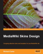 MediaWiki Skins Design book by MediaWiki consultancy Peacock Carter