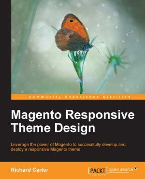 Responsive Magento themes book by Richard Carter