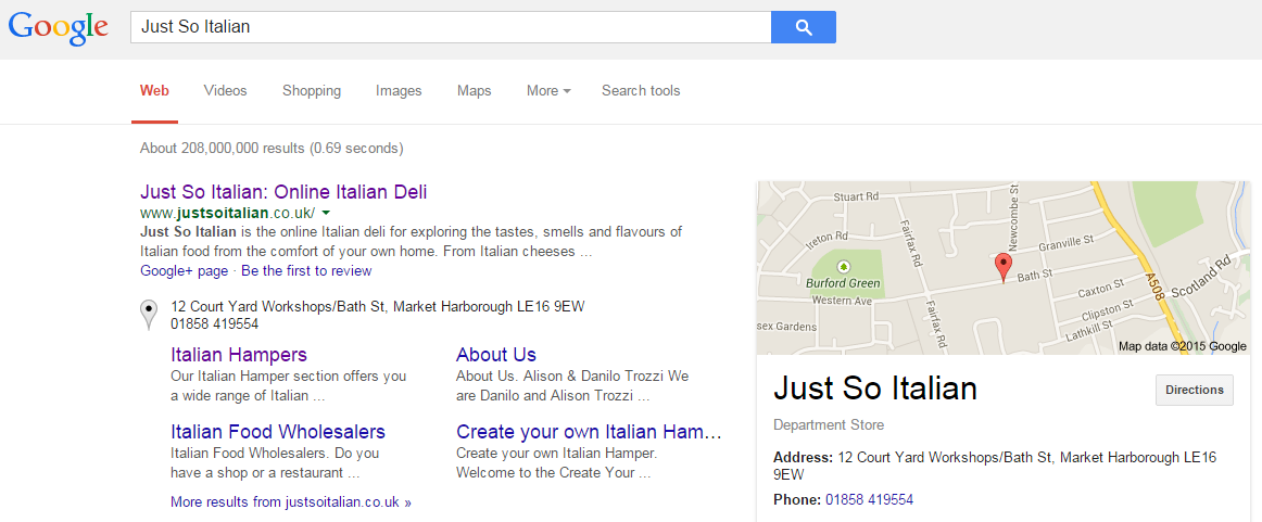 Get your listing in Google Local correct!