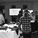Drupal 8 launch party, 2015, at the Drupal Hub
