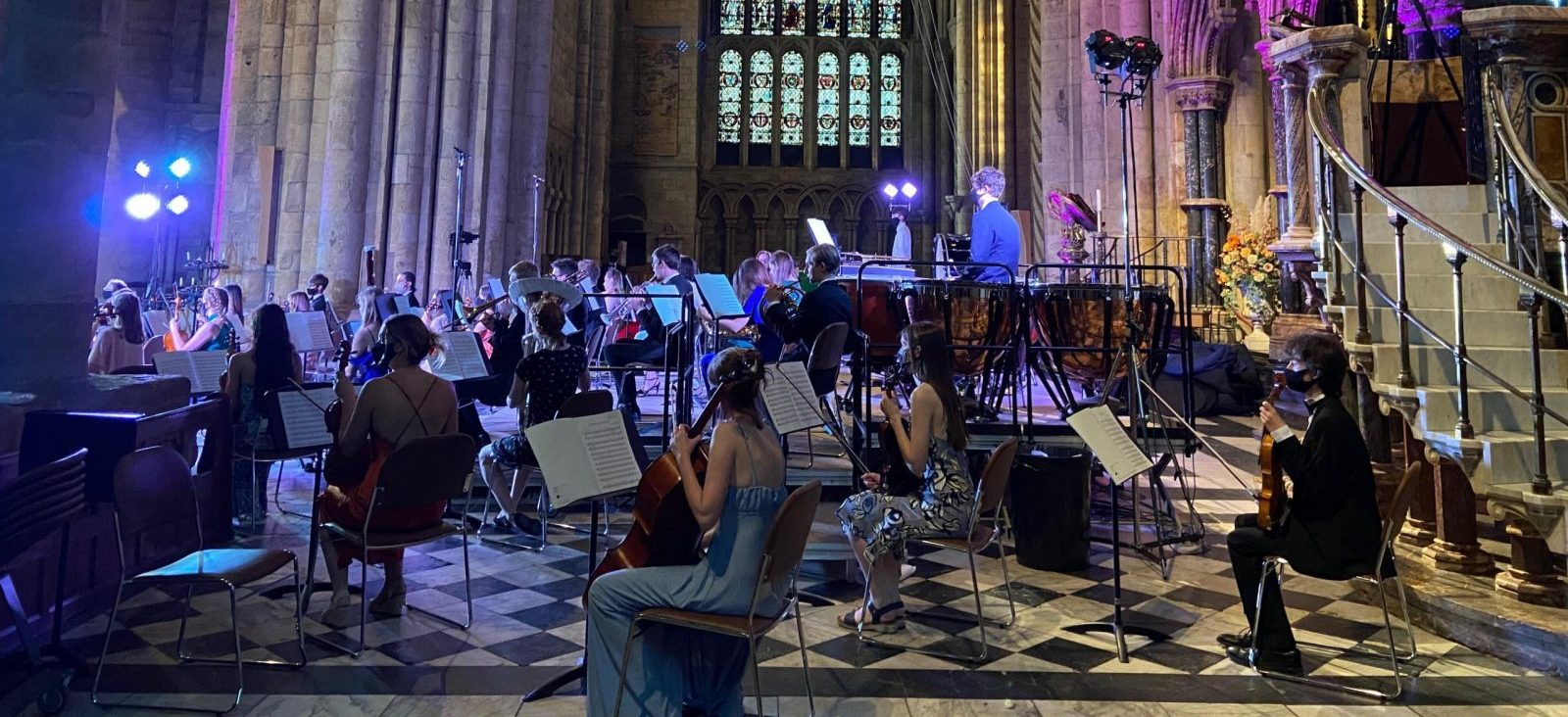 Durham University Palatinate Orchestra - DUPO - sponsored by Peacock Carter