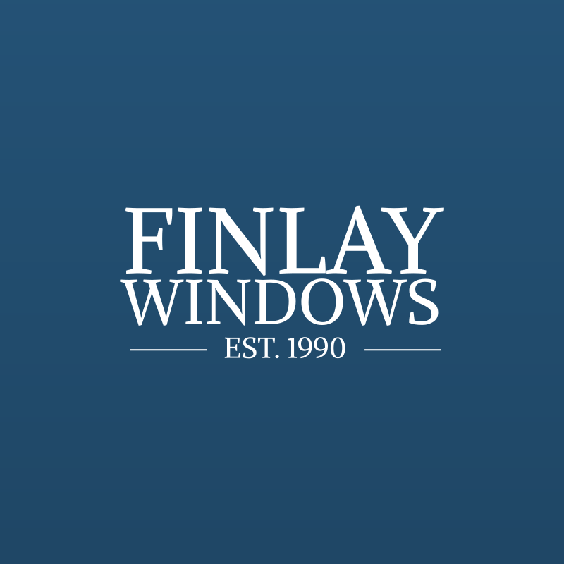 Logo design for this established Gateshead double glazing business - web portfolio entry for Finlay Windows