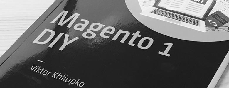 Magento 1 DIY book