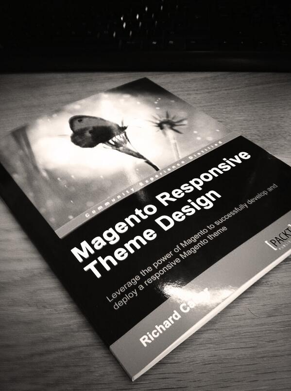 Magento Responsive Theme Development book by Richard Carter