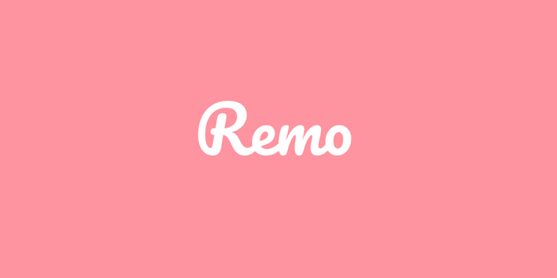 Remo video conferencing platform logo