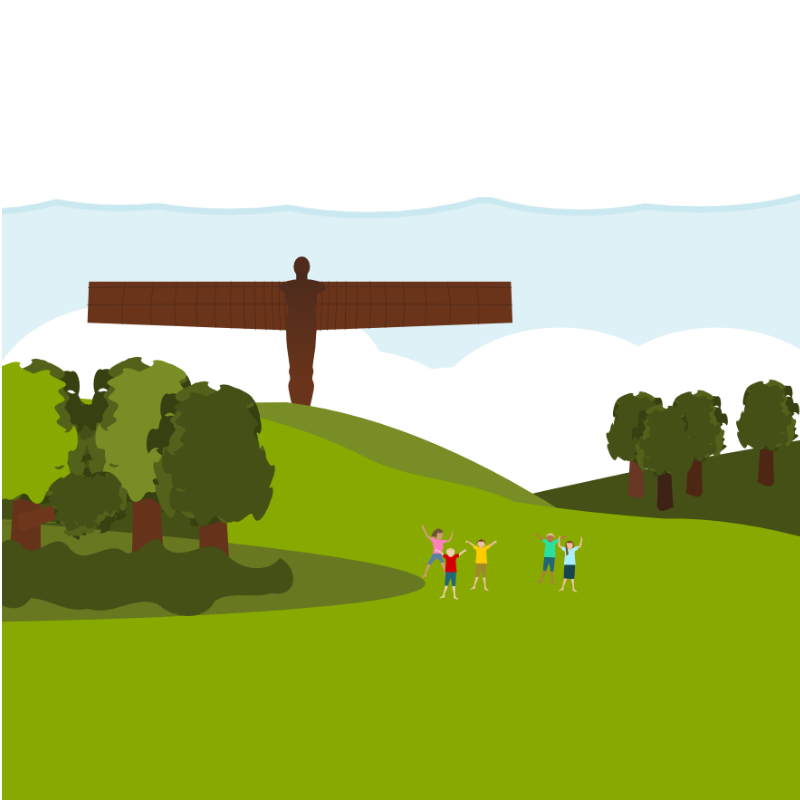 Website design for this local primary school in Gateshead.