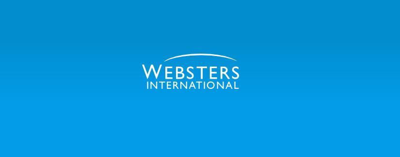 Website design in London for Websters