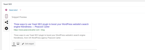 Tips to make your WordPress website more search engine friendly with Yoast SEO