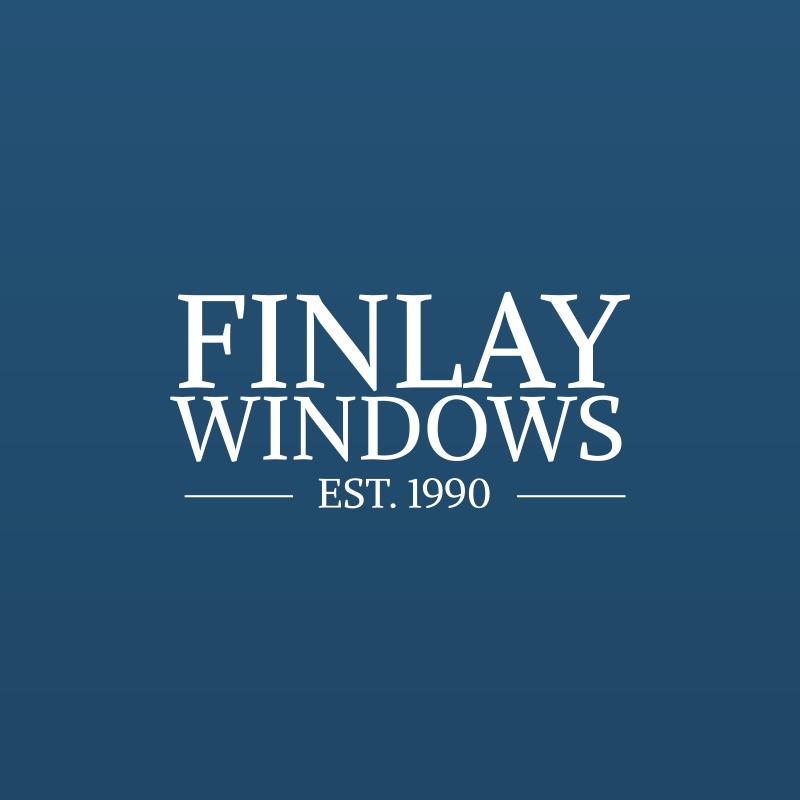 Logo design for this established Gateshead double glazing business - Finlay Windows