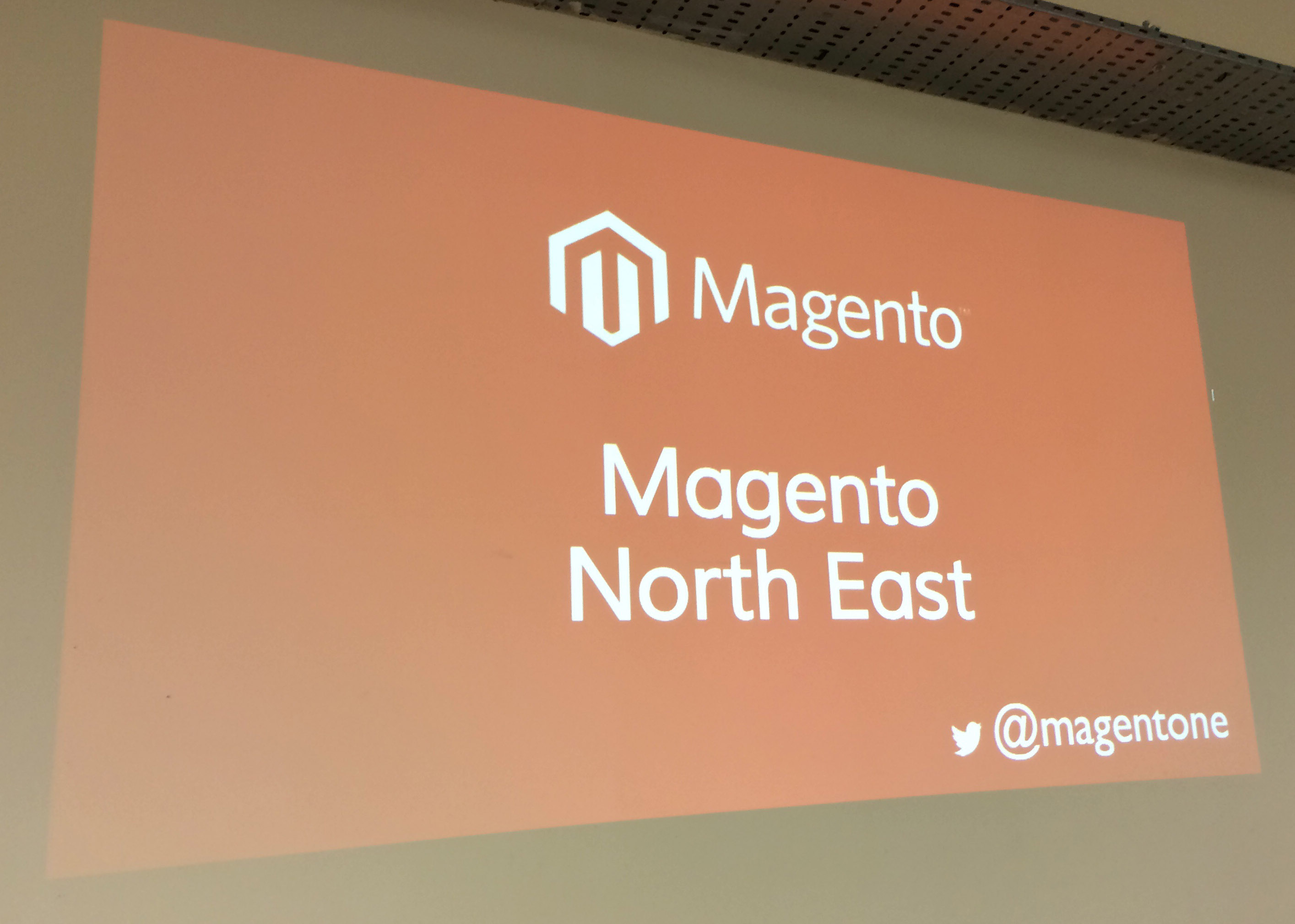 Magento North East event in Newcastle upon Tyne