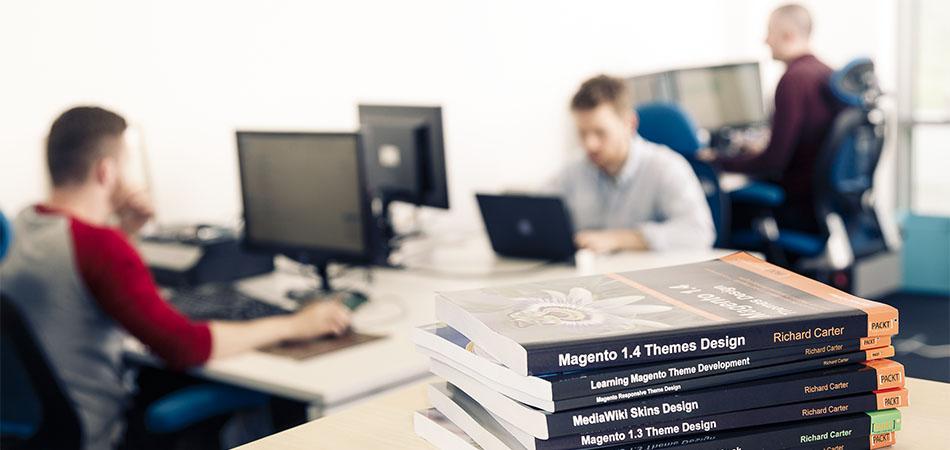 Newcastle web design agency Peacock Carter